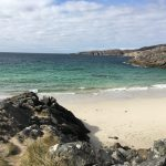 White sandy beaches at Achmelvich