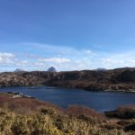 Loch with with Canisp, Suilven and Cul Mor